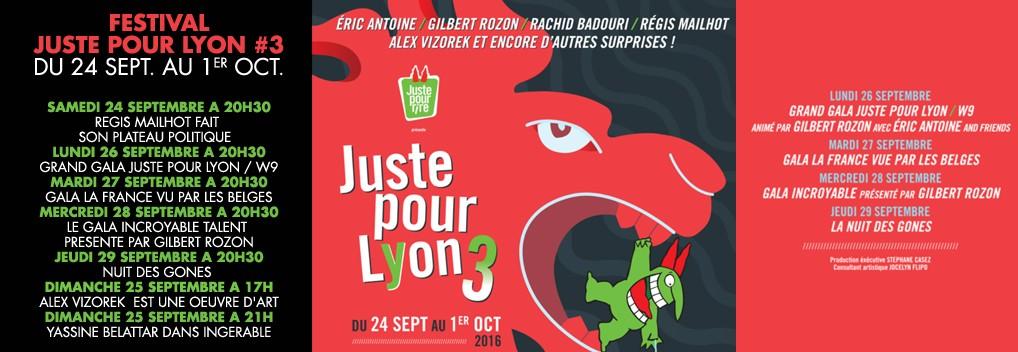 Juste pour Lyon #3