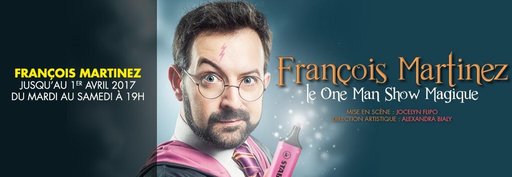 Francois Martinez « Copperfield, Harry Potter et moi… »